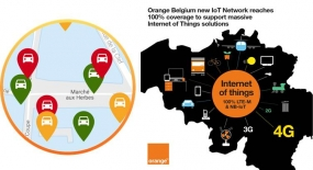 CommuniThings, Orange Belgium Launch First NB-IoT-based Smart Parking Solution