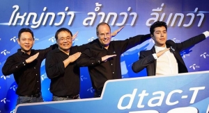 dtac Launches 'dtac TURBO' - The First Commercial 4G TDD Network in Thailand